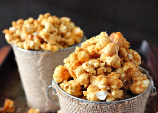 Butter Toffee Popcorn Recipe