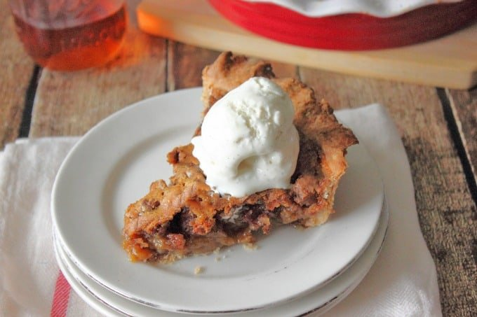 Bourbon Bacon Pecan Pie