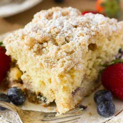 Mixed Berry Coffee Cake Recipe