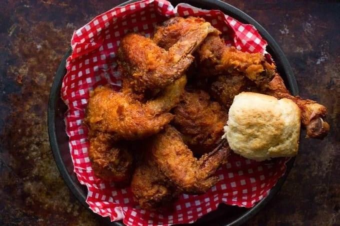 Tennessee Hot Friend Chicken