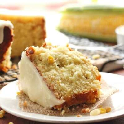 Sweet Corn Cake with Hot Butter Glaze & Beyer Farm