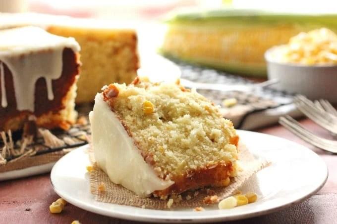 Sweet Corn Cake with Hot Butter Glaze & Beyer Farm