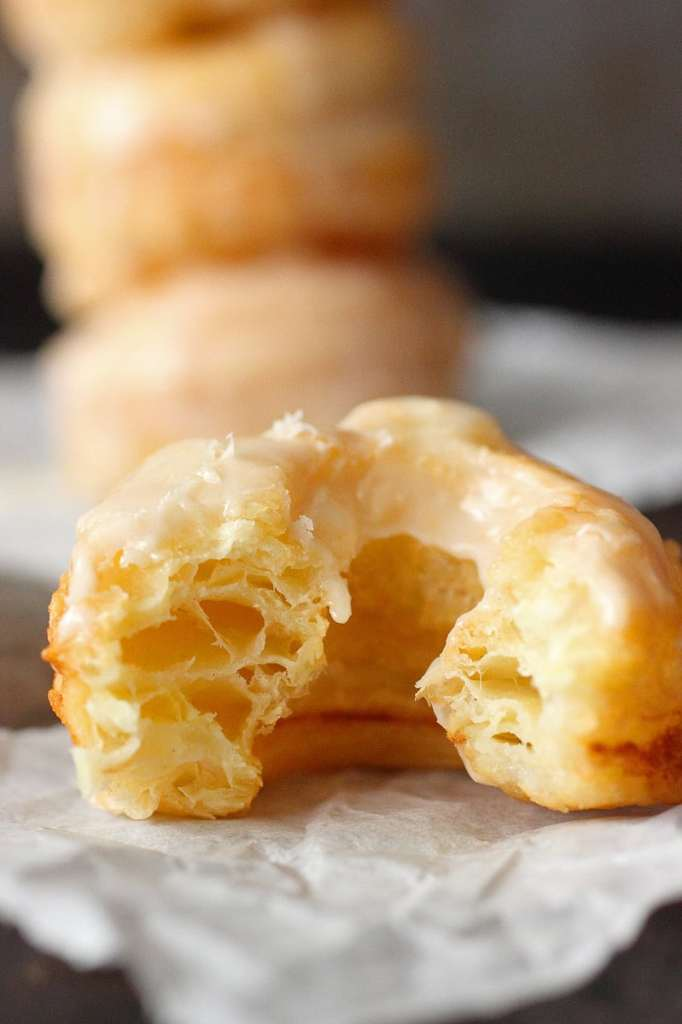 Homemade Cronut (Puff Pastry Dounuts)