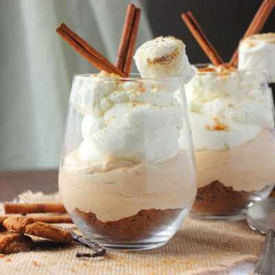 Sweet Potato Mousse Cups