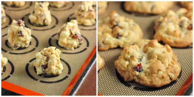 White Chocolate Macadamia Nut Cranberry Cookies