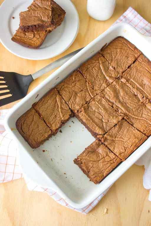 4 Ingredient Brownies