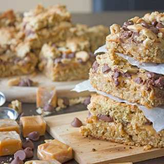 Salted Caramel Chewy Bars-1