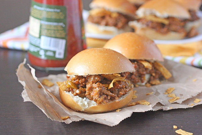 Cheesy Mexican Sloppy Joes Recipe