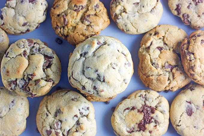 Bakery Chocolate Chip Cookies Recipe