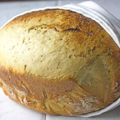 Crockpot Bread with Rosemary