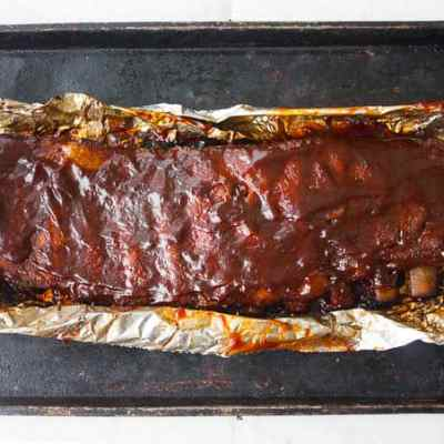 Oven Baked Pork Ribs Recipe