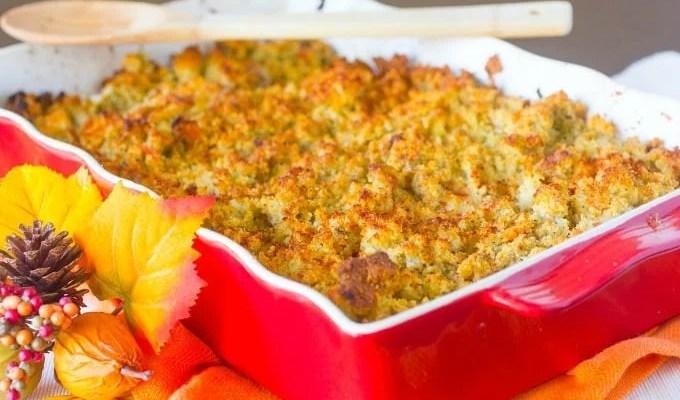 Homemade Cornbread Stuffing Recipe
