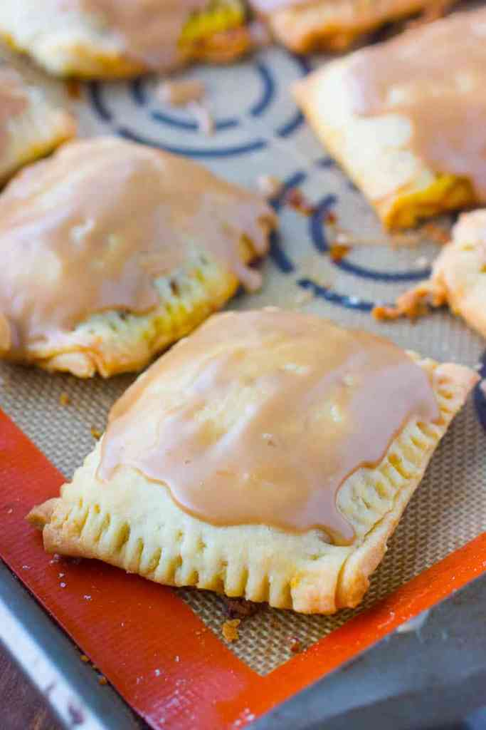 Homemade Pop Tarts with Pumpkin and Brown Sugar