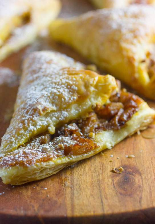 Pumpkin Apple Turnovers Recipe