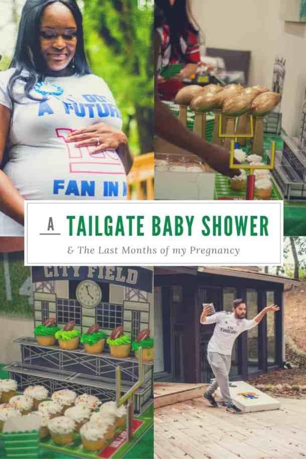 Tailgate Baby Shower