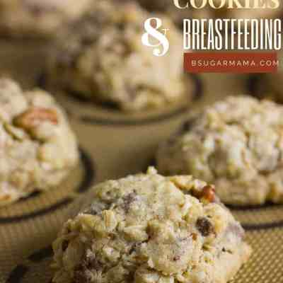 Chocolate Chip Lactation Cookies & Breastfeeding So Far