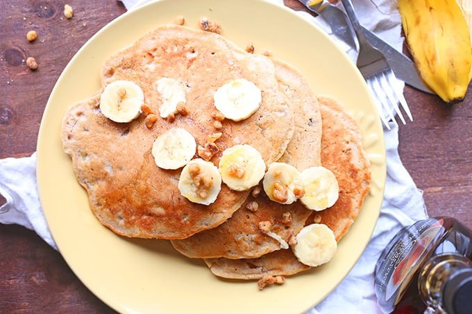 Banana Nut Pancakes Recipe
