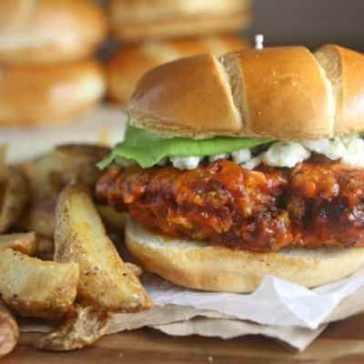 Crispy Chicken Buffalo Sandwich