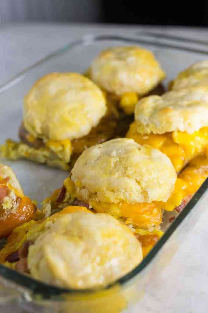 Easy Biscuit Breakfast Sandwich