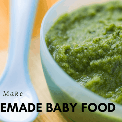 How To Make Homemade Baby Food: Stage 1