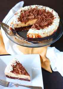Peanut Butter Brownie Mousse Cake Recipe