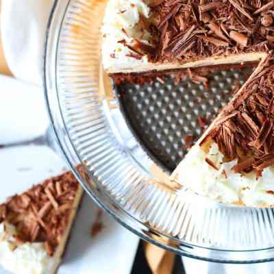 Peanut Butter and Brownie Mousse Cake Recipe