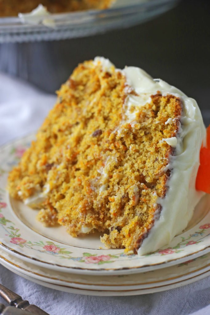 Easy And Moist Carrot Cake Recipe Brown Sugar Food Blog