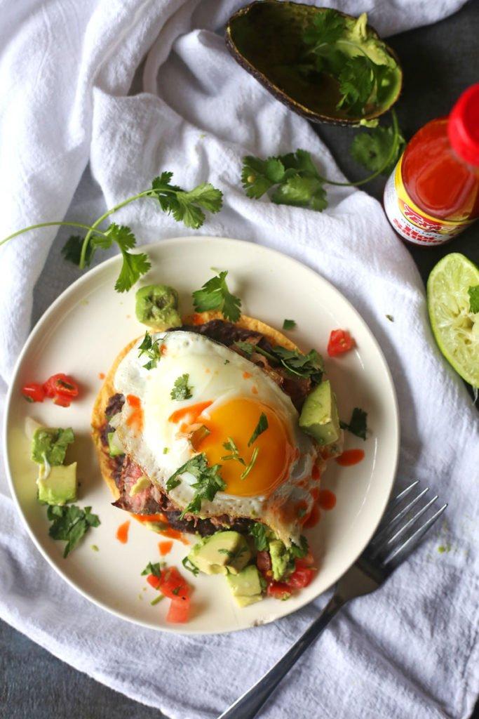 Steak and Egg Huevos Rancheros