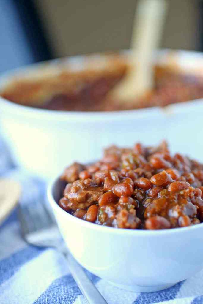 Aunt Val's Easy Baked Beans Recipe