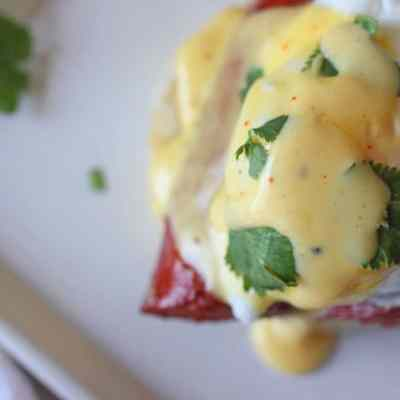 Easy Cajun Eggs Benedict Recipe