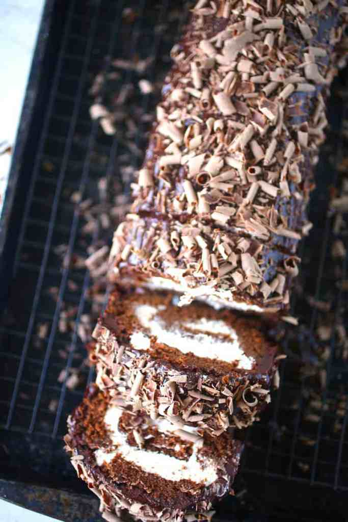 Chocolate Swiss Roll Cake Recipe