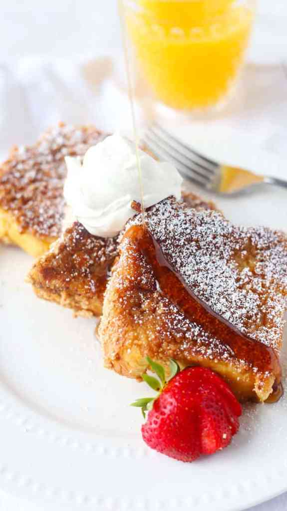 Cinnamon Toast Crunch French Toast