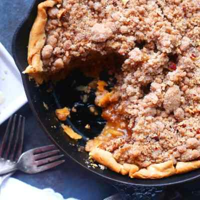 Skilet Dutch Apple Pie Recipe