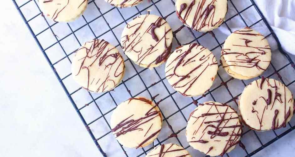 Shortbread Nutella Sandwich Cookies Recipes