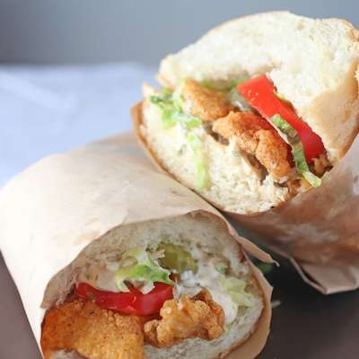 Fried Fish Po' Boy Sandwich Recipe