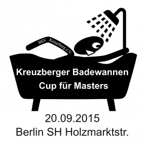 Kreuzberger Badewannen Cup für Masters 2015