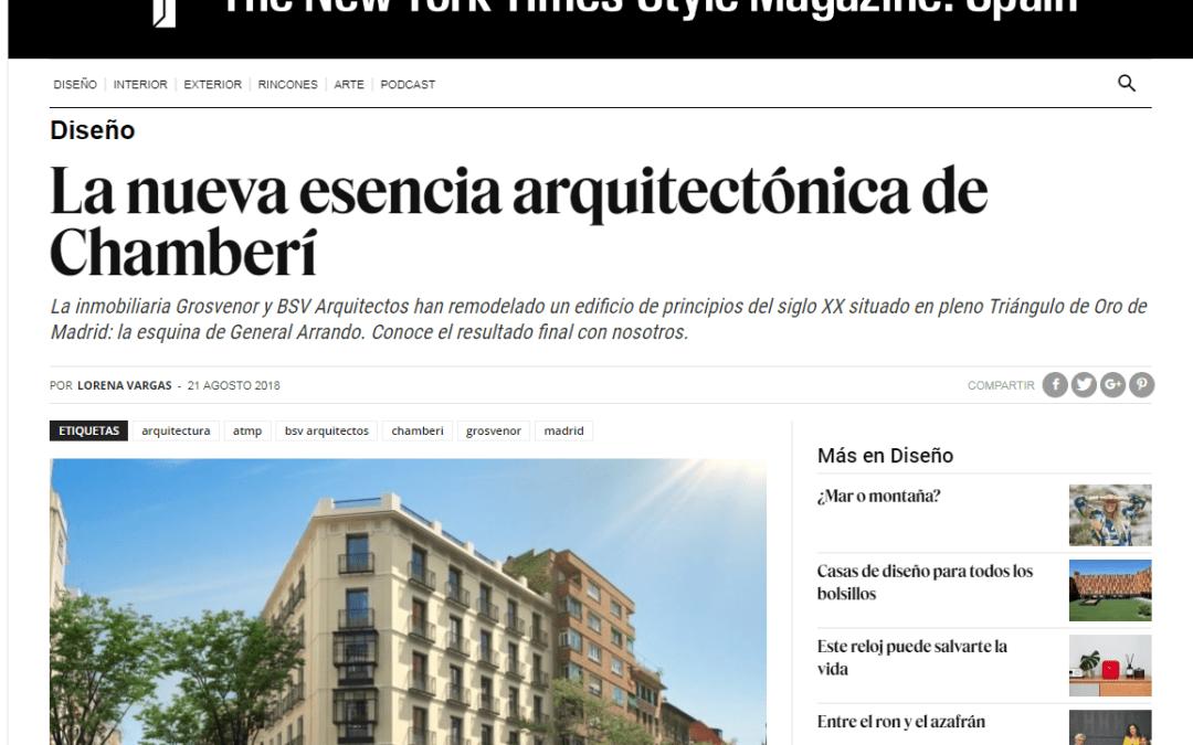 La nueva esencia arquitectónica de Chamberí