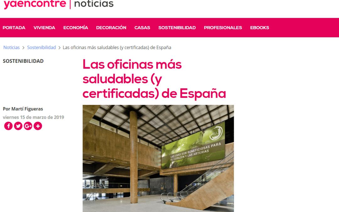 Marqués de Larios 4 como ejemplo de edificio de oficinas sostenible en «Ya encontré»