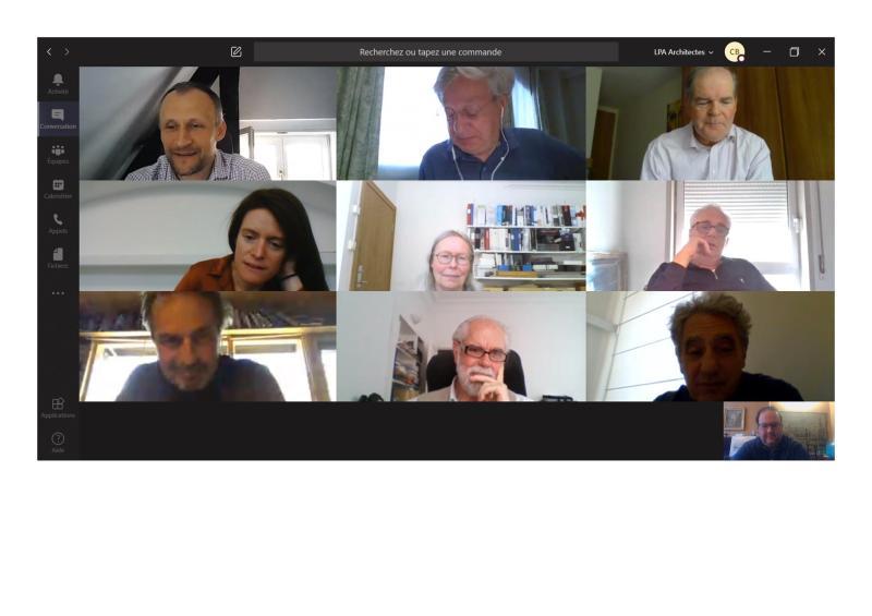Reunión trimestral de PSP online