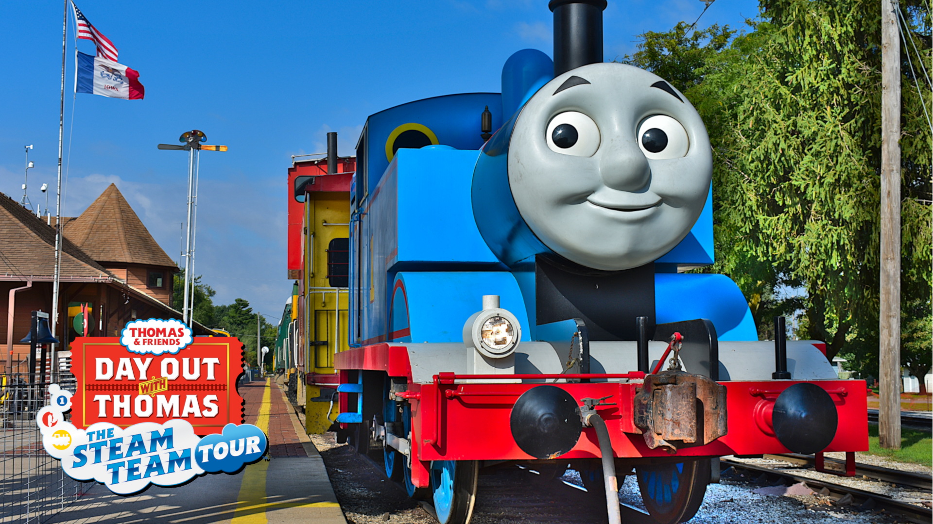 Tickets for our 2019 Day Out With Thomas event are on sale now  Boone  Scenic Valley Railroad