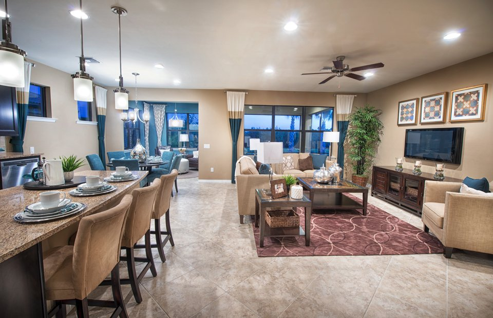 outdoor kitchen plans bar table new homes at del webb - an active adult retirement ...