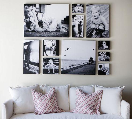 family photo canvas art