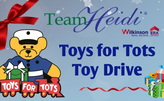 Save The Date For The Teamheidi Toys For Tots Toy Drive