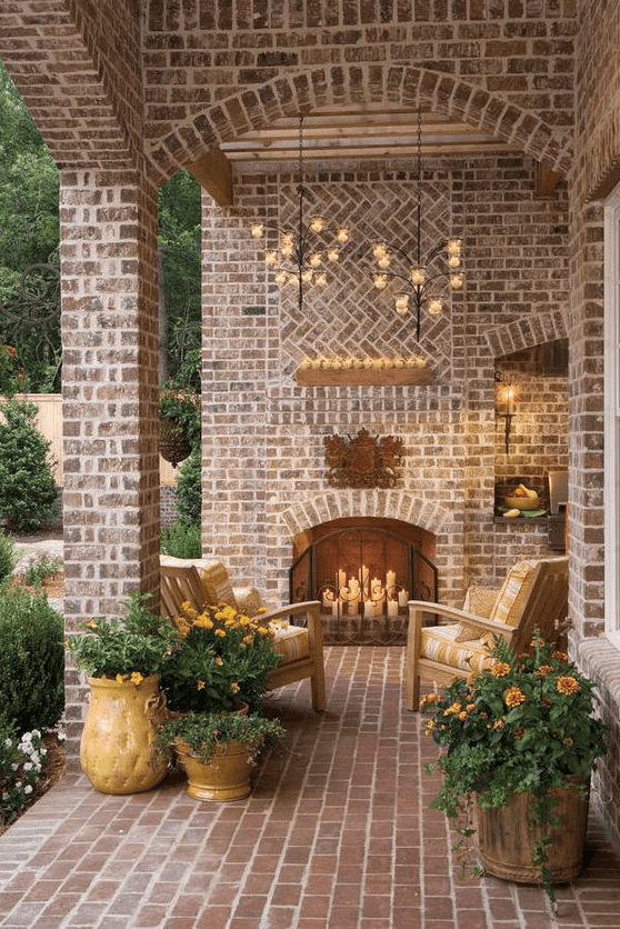 6 Outdoor Fireplaces You Will Fall For  North Atlanta