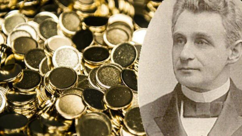 Lars Emil Bruun var en af Danmarks rigeste mænd, da han døde i 1923. Han efterlod sig en kostbar møntsamling bestående af knap 18.000 enheder, som i dag ligger i Nationalbankens bombesikre kælder. Om seks år - 100 år efter hans død - skal mønterne på auktion.
