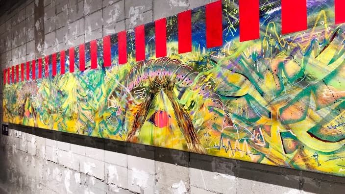 香取慎吾が國內初個展を開催。100點以上の絵畫作品に加え體験 ...