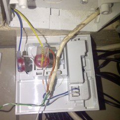 Bt Telephone Extension Socket Wiring Diagram Sears Dryer New Installation And Problems With Service