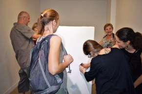Wystawa towarzysząca II BTA. Galeria Jak. Fot. Wojtek Borowicz