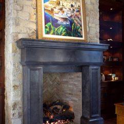 Tuscan Kitchen Design Photos Shelf Ideas Italian & Stone Fireplace Mantels - Bt ...