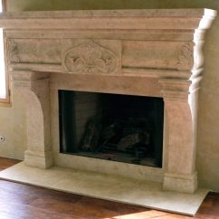 Kitchen Tables & More Valance Italian & Tuscan Stone Fireplace Mantels - Bt ...